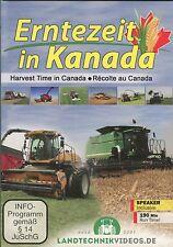Harvest Time in Canada (2 DVD set) 190 min.
