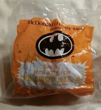 McDonald's Batman Press and Go Car New in Package