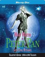 Peter Pan: Starring Mary Martin (Collector's) (2015, Blu-ray New)