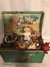 Vintage Enesco Treasure Chest of Toys Symphony Musical Box See Notes