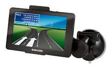"Snooper SC5800 5"" Display Sat Nav Car European Maps Satellite Navigation"