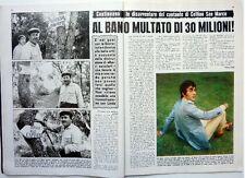 AL BANO => Ritaglio 2 pagine 1971  // ITALIAN CLIPPING