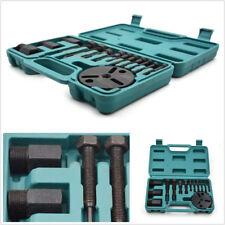 14 Pcs Car 4WD SUV AC Tool R134a R12 Compressor Clutch Sucker Puller Repair Kits