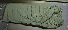 Used Canadian military 1 piece Cold weather outer arctic sleeping bag ( #O-3 )