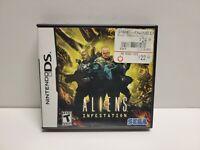 Aliens: Infestation (Nintendo DS, 2011) CIB Complete TESTED Authentic Sega