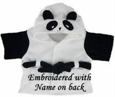 "Teddy Bear Clothes Panda Dressing Gown Robe for 15-16"" fits Build a Bear Factory"