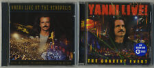 Yanni Live At The Acropolis (1994) / Yanni Live! The Concert Event (2006) CD NEW