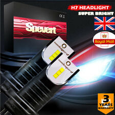 Upgrade 55W H7 LED Headlight Kit High Low Beam Bulbs Fit BMW Focus Audi 6000K