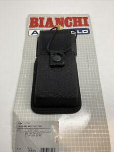 Bianchi 7314 AccuMold Universal Radio Holder, Black