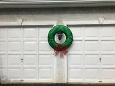 3' Giant Christmas Wreath LED Lights Holiday Window Outdoor Yard Decoration