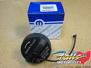 1999-2016 Chrysler Dodge Jeep Ram Fuel Filler Gas Cap with Tether Mopar OEM