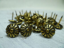 Upholstery Nails - Furniture Studs/Tacks/Pins - 11mm Daisy - 200 Count