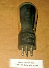 Silvertone Globe Type 201A ( 01A)  Electronic Vacuum tube Hickok Tested