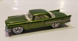 Hot Wheels Larry's Garage '57 Chrysler 300 Green Chase Signed Loose Car RR