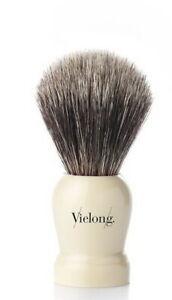 Vie-Long Spain Gray Horsehair Shaving Brush Natural Horse Hair 21mm Soft