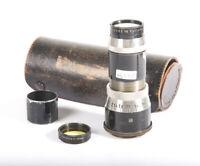 Meyer Gorlitz Trioplan 105mm f/4.5 original Leica LTM L39 Hugo Meyer RF coupled