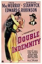 Double Indemnity Movie Poster 24x36