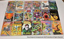 DC Comics Crossover Mini-Series Lot Crisis, Legends, Zero Hour, Millennium, ETC!