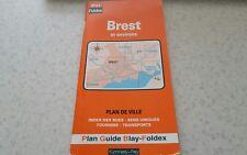 Brest - et environs -  Plan De Ville -