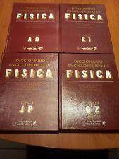 DICCIONARIO ENCICLOPEDICO DE FISICA (4 TOMOS) - A. M. PRÓJOROV - OBRA COMPLETA