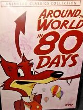 Around the World in 80 Days Animated Classics Collection DVD, Ships in 12 hrs!!!