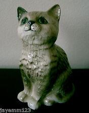 ROYAL DOULTON CAT PERSIAN KITTEN No DA 128 GREY GLOSS PERFECT CONDITION