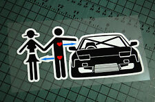 240 LOVE Sticker Decal Vinyl JDM Euro Drift Lowered illest Fatlace