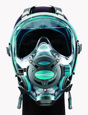 Ocean Reef Neptune Space G.divers Full Face Diving Mask Medium/Large Emerald