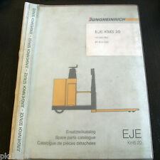 Catalogue des pièces Jungheinrich EJE KmS 20 Chariot élévateur