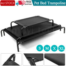 4 Size Heavy Duty Pet Dog Cat Bed Trampoline Hammock Canvas Cover Indoor Outdoor