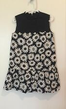NEW Victoria Beckham for Target Black/White Floral Toddler Girl Dress, SZ XS