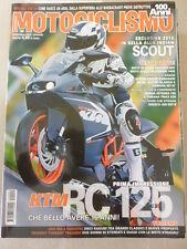 MOTOCICLISMO  N 9 SETTEMBRE  2014 -  EPOCA NORTON ATLAS 750 - KTM RC 125
