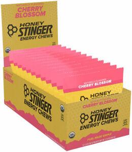 Honey Stinger Organic Energy Chews - Cherry Blossom - Box of 12