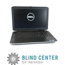 "Dell Latitude E5530 15.6"" Laptop i5-3230M 2.6GHz 8GB DDR3 500GB HDD W10P D7K9MX1"