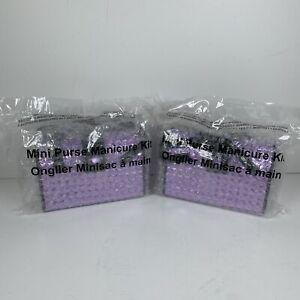 NEW-Avon-Mini Purse Manicure Kit- Very Cute! Scissor,Clipper,File,Cuticle Pusher