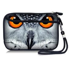 "Owl Portable Case Bag Pouch For 2.5"" USB External Hard Drive Disk/Phone/Earphone"