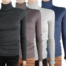 Long Sleeve Turtleneck Hand-wash Only Casual Tops & Blouses for Women