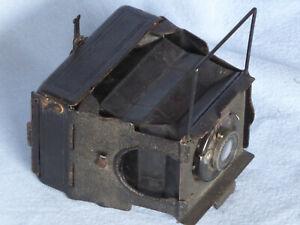 Ernemann Mignon Plattenkamera 4,5x6 Spreizenkamera