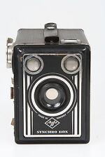 Agfa Synchro BOX, 6x9cm Boxkamera per 120er Roll Film