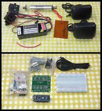 Stabilized Zeeman Two-Frequency HeNe Laser Kit + Arduino Comptible Controller