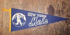 New York Mets Vintage Felt Banner Baseball MLB