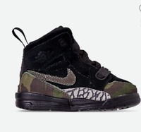 NWB Boy's Toddler Air Jordan Legacy 312 Off-Court Shoes Size 6 C AT4055 003 Camo