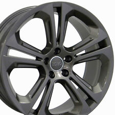 "20"" Wheels For Audi Q3 Q5 A4 A5 A6 A8 Rims Set of 4 20x8.5 Inch Gunmetal 5x112"