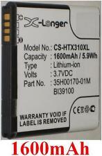 Batterie 1600mAh type 35H00170-01M BI39100 Pour HTC Sensation XL