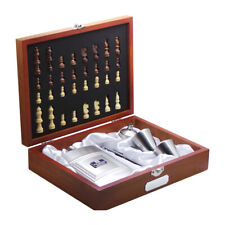 More details for hm prison service  personalised  engraved  luxury gift set in wooden case hmp