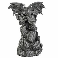 Dragon Incense Tower Backflow Cone Burner 19cm High Nemesis Now Gothic