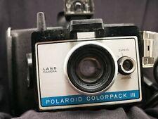 POLAROID COLORPACK III LAND CAMERA VINTAGE POLAROID CAMERA