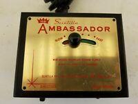 Scintilla Ambassador power supply,model #6003, for HO VTg