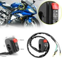 Universal 7/8in Handlebar Motorcycle ATV Start Kill On/Off Button Switch