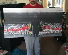 "Manchester United #MUFC the Fergie Years Canvas Print (40""x20"") £32"
